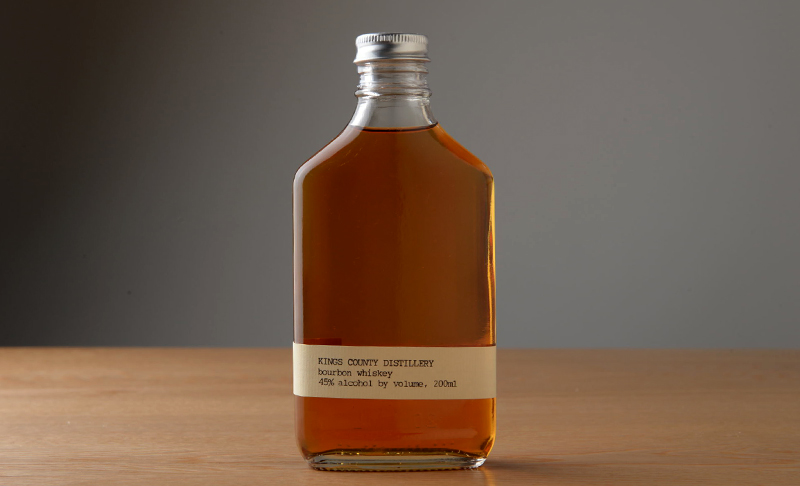 Kings County Distillery(キングスカウンティー醸造所)バーボン・ロック/バーボン・ソーダ
